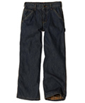 Boys Dark Blue Jeans by Carhartt