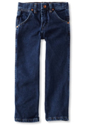 Boys Dark Blue Jeans by Wrangler