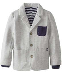 Grey Boys Knit Blazer Fashion by Silvian Heach