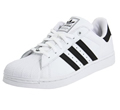 Boys White Sneakers by Adidas