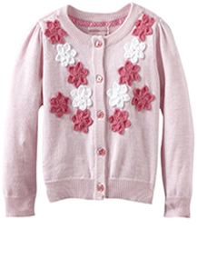 Girl's Pink Sweater Outfit by Design History