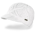 Girl's White Visor Beanie by Dakine