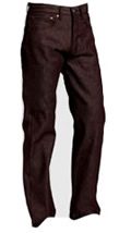 Classic Mens Fashion Levis Brown Jeans with Blazer