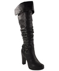 Women's Long Black Boots by City Classified