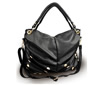 Women's Brian and Davis Black and Gold Handbag