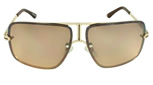 Women's MLC Black and Gold Sunglasses