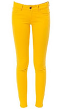 Women's Yellow Skinny Jean Outfits by Romeo and Juliet
