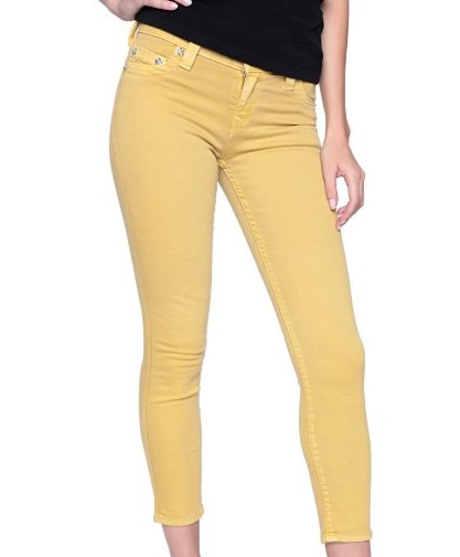 0b286418f115 Pin My Style» Sexy - Black and Yellow Skinny Jeans for Women with ...