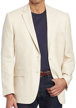 Mens Beige Blazer Fashion by Jones New York