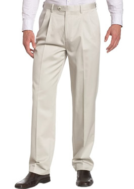 Beige Savane Slacks for Men Style