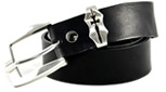 Mens Black Belt by Tobacco Road