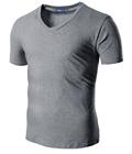 Gray T Shirt by Doublju