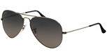Gunmetal Gray Ray Ban Aviators RB3025