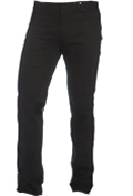 Mens Black Cowboy Cut Jeans by Wrangler