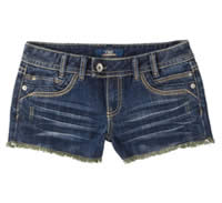 Womens Dark Blue Jean YMI Shorts