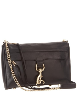 Black Mac Clutch by Rebecca Minkoff