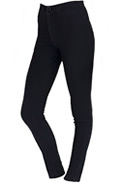 Womens Black Outfits with High Waisted Jeans by GoJane