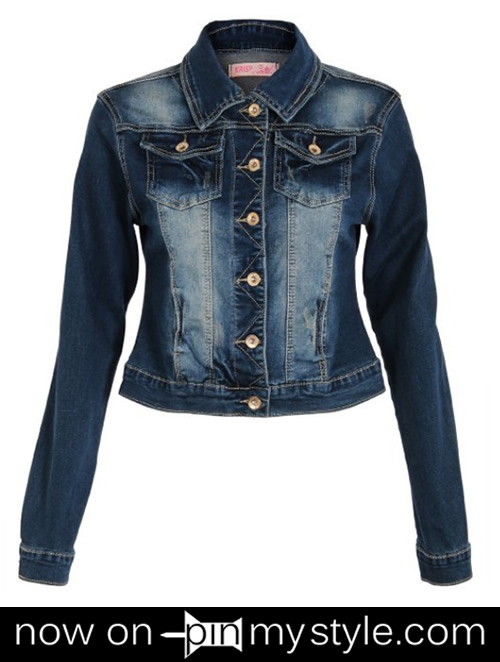 Pin My Style» Denim Jacket for Women Outfits