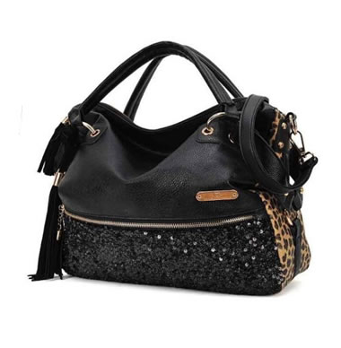 Womens Cheetah Handbag Tote